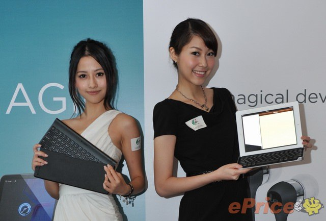 Allie and Wing @ Logitech iPad 2 配件發佈會