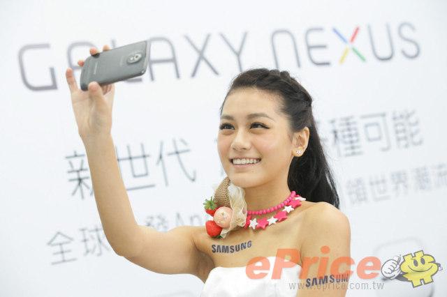 Samsung Galaxy Nexus x 美女照
