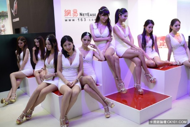 上海 Chinajoy 2013 展覽會 Show Girls