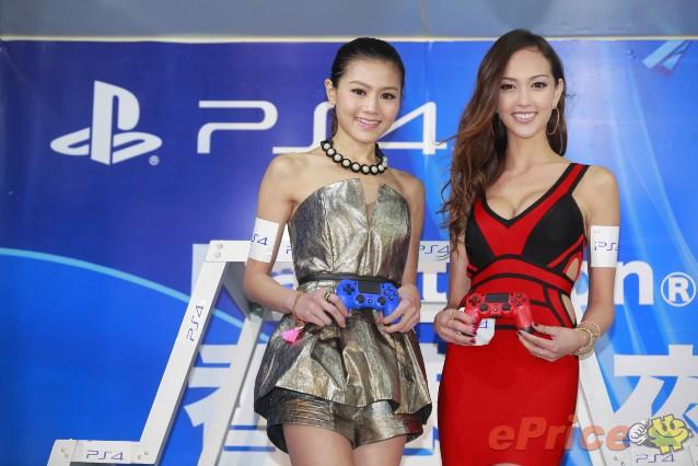 Jessica C.、周秀娜 @ PlayStation 4午夜首賣會