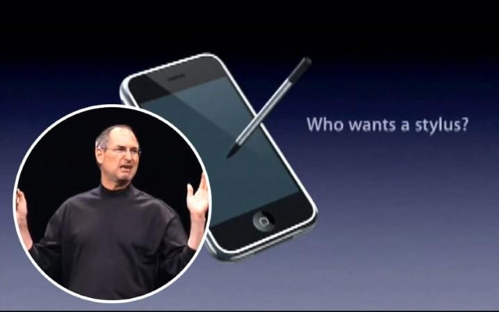喬布斯流淚!Apple 為 iPhone 手寫筆申請專利