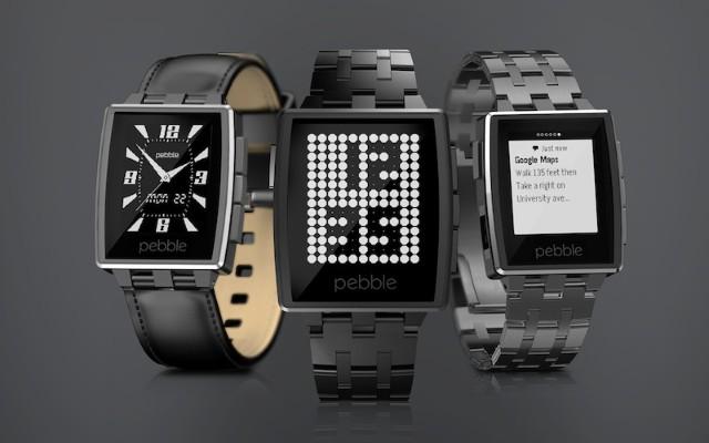 $1930 網上即買 金屬斯文版 Pebble Steel 智能手錶